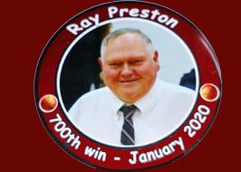 Mr. Preston Congratulations on 700 career wins