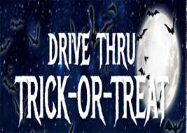 drive thru trick-or-treat