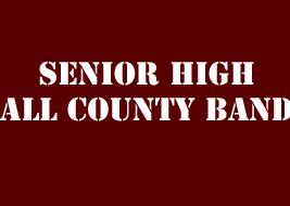Senior High All County Band